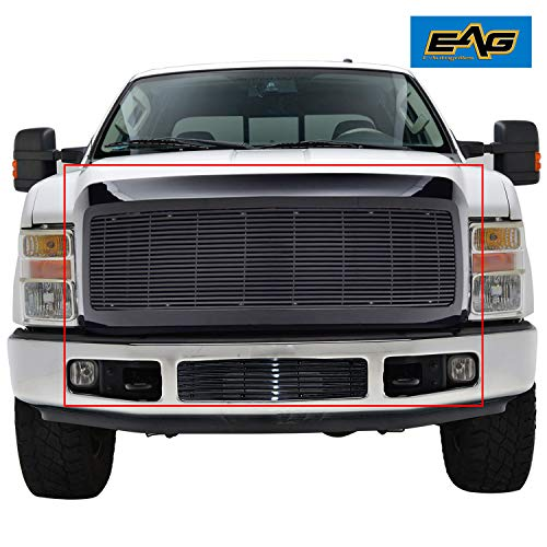 EAG Black Billet Grille+Shell for 08-10 Ford Super Duty F250/F350
