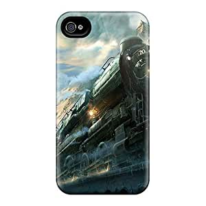 Tpu Mialisabblake Shockproof Scratcheproof Colorado Train Hard Case Cover For Iphone 4/4s