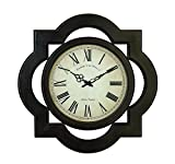 Deco 79 81667 Wood Wall Clock Uniquely Scalloped