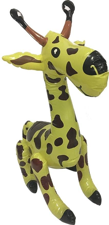 Amazon.com: Block Buster disfraces hinchable jirafa Rain ...