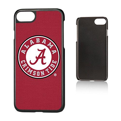 Keyscaper NCAA Alabama Crimson Tide UA Solid Slim Case for iPhone 8/7/6, Black by Keyscaper