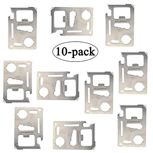 Pocket Tool StainlessSteel Wallet Tool 10 Pack Bottle Opener 2.76