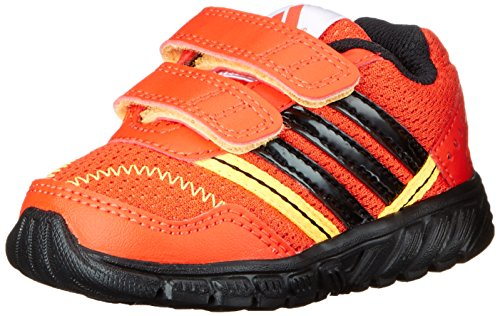adidas Performance A-Faito LT CF I Running Shoe (Toddler), Bold Orange/Black/Gold, 7 M US Toddler