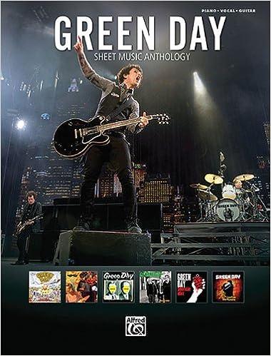 Green Day - Sheet Music Anthology: Green Day: 0884088698027
