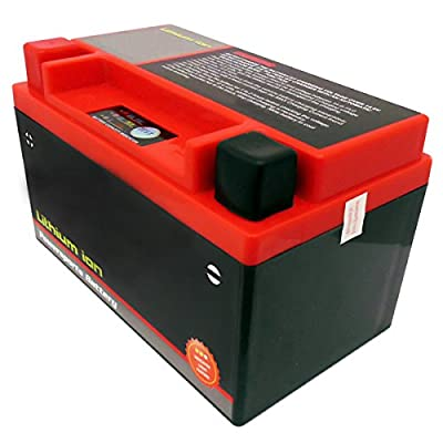 YTX7A-BS 7A-BS Lithium Ion Sealed Battery 12V - 160 CCA Motorcycle Scooter ATV