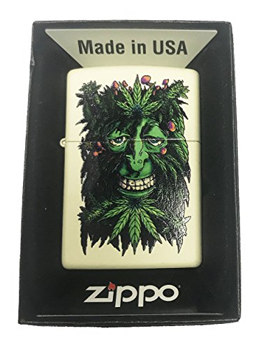 zippo pot leaf - 8