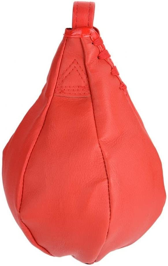 PU Leather Inflatable Boxing Speed Ball Punching Bag with Free Air Pump Dilwe Speed Bag