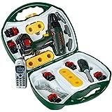 Klein - 8545 - Jeu d'imitation - Mallette outils Bosch avec visseuse, téléphone portable et outils profiline