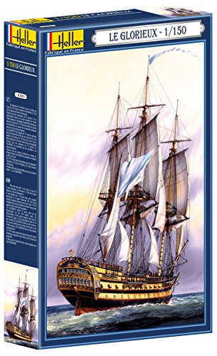 Heller Le Glorieux Boat Model Building Kit