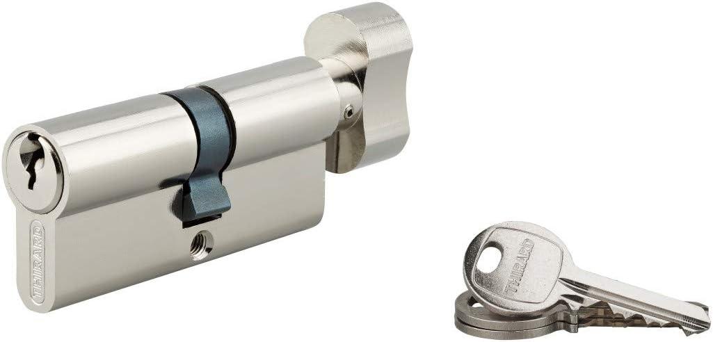 CYLINDRE /à bouton 30 x 35 mm 3 cl/és THIRARD