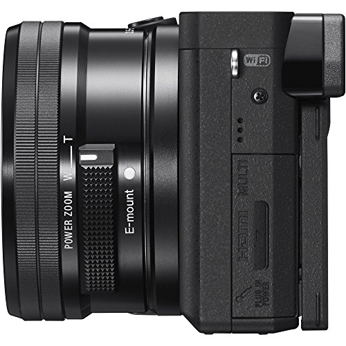 Sony-ILCE-6300-a6300-4K-Mirrorless-Camera-w-16-50mm-Power-Zoom-Lens-64GB-Accessory-Bundle-DSLR-Photo-Bag-Extra-Battery-Wide-Angle-Lens2x-Telephoto-Lens-Flash-Remote-Tripod