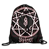 Cheap FOODE Slipknot New Wave Of American Heavy Metal Drawstring Backpack Sack Bag