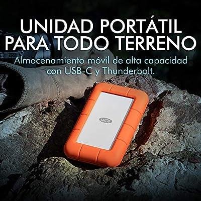 LaCie STFS5000800 - Disco Duro Externo (5 TB, USB Tipo C, Interfaz ...