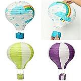 HITSAN Air balloon Air Balloon paper lanterns wendding party festival colour decorate One Piece