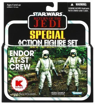 Star Wars Vintage 2012 - Endor AT-ST Crew (AT-ST Driver & AT-ST Gunner) (Ati Drivers)