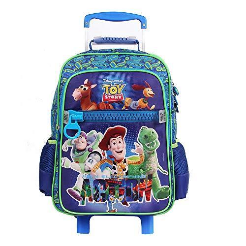 Mala Escolar G com Rodinhas Disney Toy Story, 41 x 30 x 14, Dermiwil 52194, Multicor