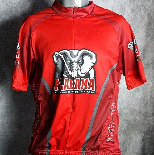 University Cycling Jersey - Adrenaline Promotions University Alabama Crimson Tide Cycling Jersey