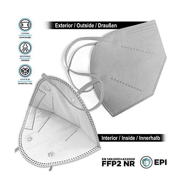 FFP2-Maske-graue-Schachtel–20-Stck-EU-CE-Zertifiziert-mit-verstellbarem-Gummiband-und-anpassbarem-Nasenbgel-5-Filtrationsschichten-Schtzt-drinnen-und-drauen