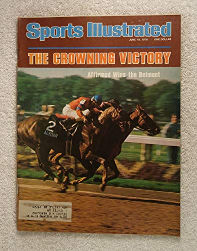 Horse 1978 - Affirmed Wins at Belmont - Triple Crown Winner! - Sports Illustrated - June 19, 1978 - Horse Racing - SI