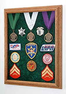 product image for All American Gifts Award - Medals and Patch Display Case - 16x20 - Shadow Box (Red Velvet)