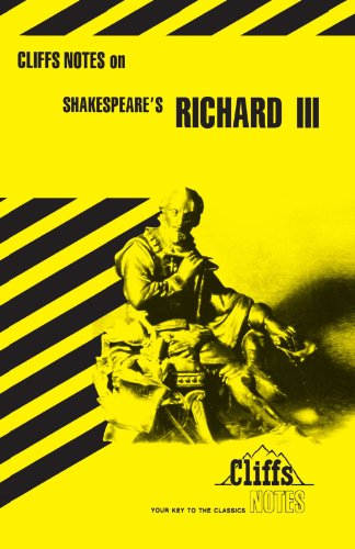 Shakespeare's Richard III (Cliffs Notes)