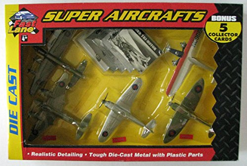 Tri Motor Aircraft - Fast Lane 5 Super Aircrafts- Tri-motor, Lancaster, Mosquito, Hurricane and Spitfire