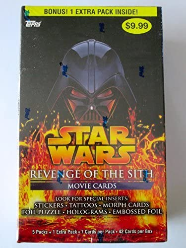 Amazon Com Star Wars Revenge Of The Sith Movie Cards Toys Games