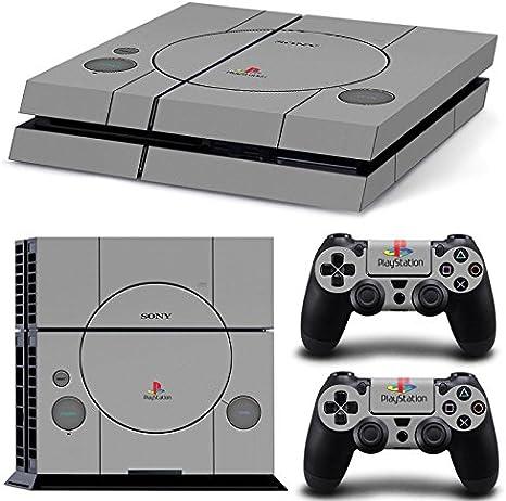 Sony PS4 Playstation 4 Skin Design Foils Pegatina Set - Retro ...