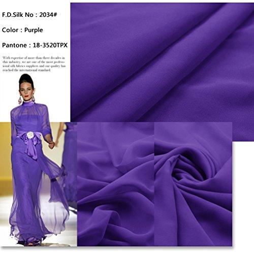 Chiffon 100% Silk Sheer - 9