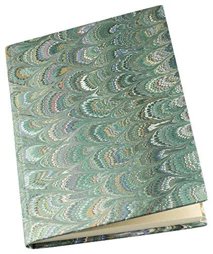 Il Papiro Firenze - Libro Pagine Bianche Filigranate ricoperto in carta decorata a mano