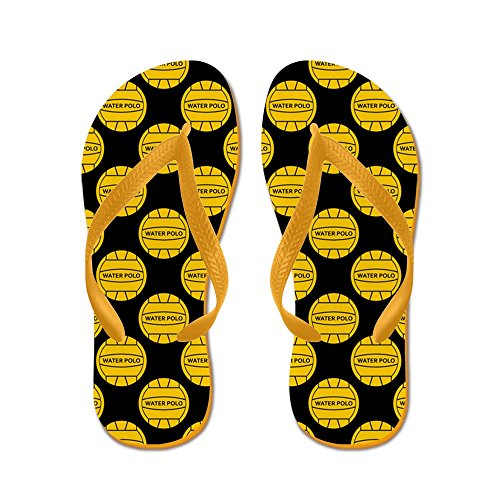 CafePress Water Polo Balls - Flip Flops, Funny Thong Sandals, Beach Sandals Orange