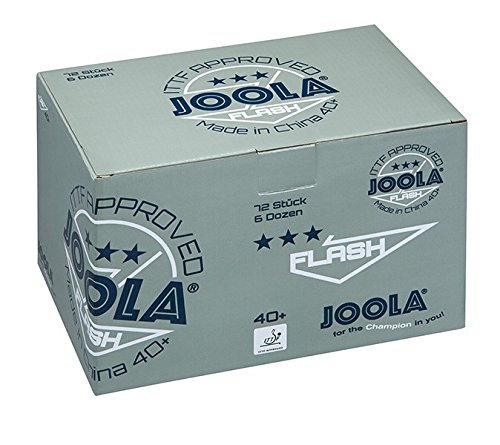 JOOLA Seamless Poly Flash Balls (72Count, 3-Star Quality) by JOOLA