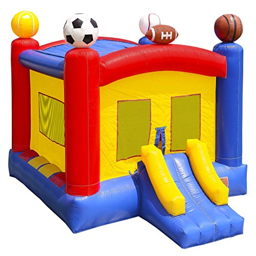 - Inflatable HQ Commercial Grade Sports Bounce House with Blower