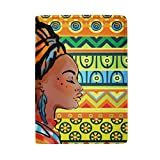 Passport Holder Case Africa Woman Art Leather Cover Holder For Travel