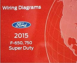 2015 ford truck f 650 f650 f750 f 750 wiring electrical diagram rh amazon com wiring diagram for ford 800 tractor 12 volt Ford Electrical Wiring Diagrams