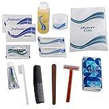 Wholesale Basic 15 Piece Hygiene Kit in Bulk, 48 Sets Per Case