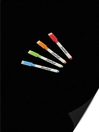 Amazon.com: Pizarra magnética de borrado en seco con diseño ...