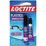 Loctite 681925 2-Gram Super Glue Plastics Bonding System with Activator (6 Pack)