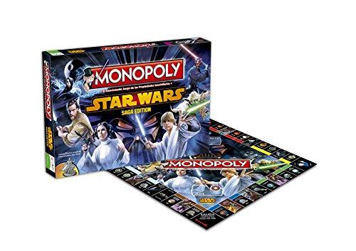 Star Wars Monopoly Juego De Mesa Eleven Force 82219 Comprar