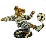 Boyds Bears Resin Chris Striker Score Sports Soccer Bearstone - Resin 3.25 IN