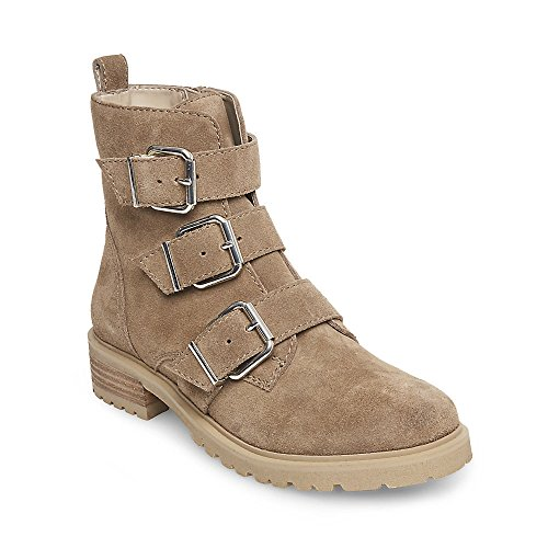 Steve Madden Women's Hadley Tan Suede 470 8 (Steve Madden Flat Boots)