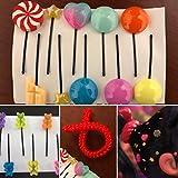 Vanellope Hair Clips - Vanellope Hair Candy - Vanellope costume, Vanellope Von Schweetz Hair Pins