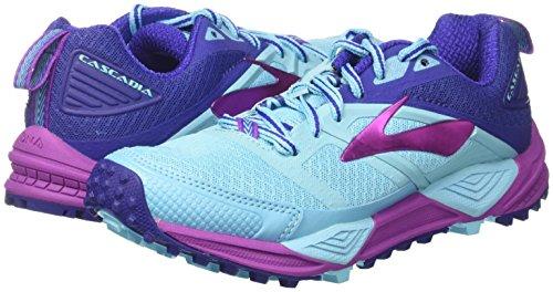 bluefish 12 Pour Purpleca 467 Trail Course De Brooks Multicolore Clematisblue Chaussures Cascadia Femmes ZwnTUqRCzx