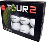 Assorted Taylormade B Grade Recycled Golf Balls (Value Pack of 48), Outdoor Stuffs