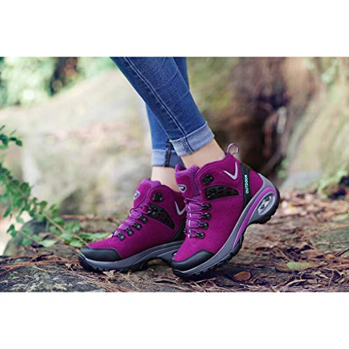 Air Women Waterproof Cushion 01 Trekking Outdoor Boots Hiking Shoes TzwArEz