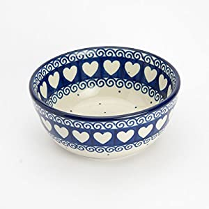 Polish Pottery Cereal Bowl – Light Hearted 12cm D x 5cm H