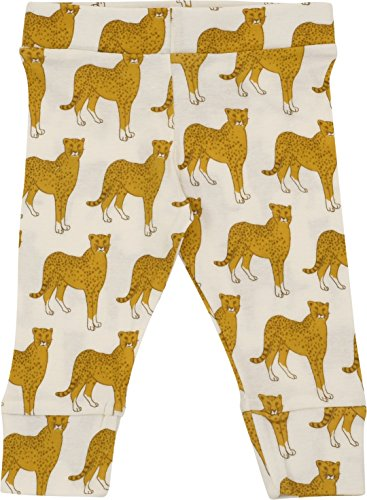 MilkBarn Organic Cotton Infant and Toddler Leggings Cheetah (6-12 Months) by MilkBarn