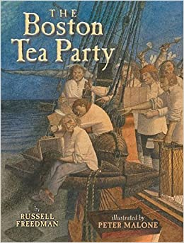 Book The Boston Tea Party by Freedman, Russell (2013)