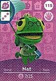Nintendo Animal Crossing Happy Home Designer Amiibo Card Nat 115/200 USA Version