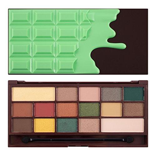 Makeup Revolution I Heart Makeup Palette, Mint Chocolate V4,